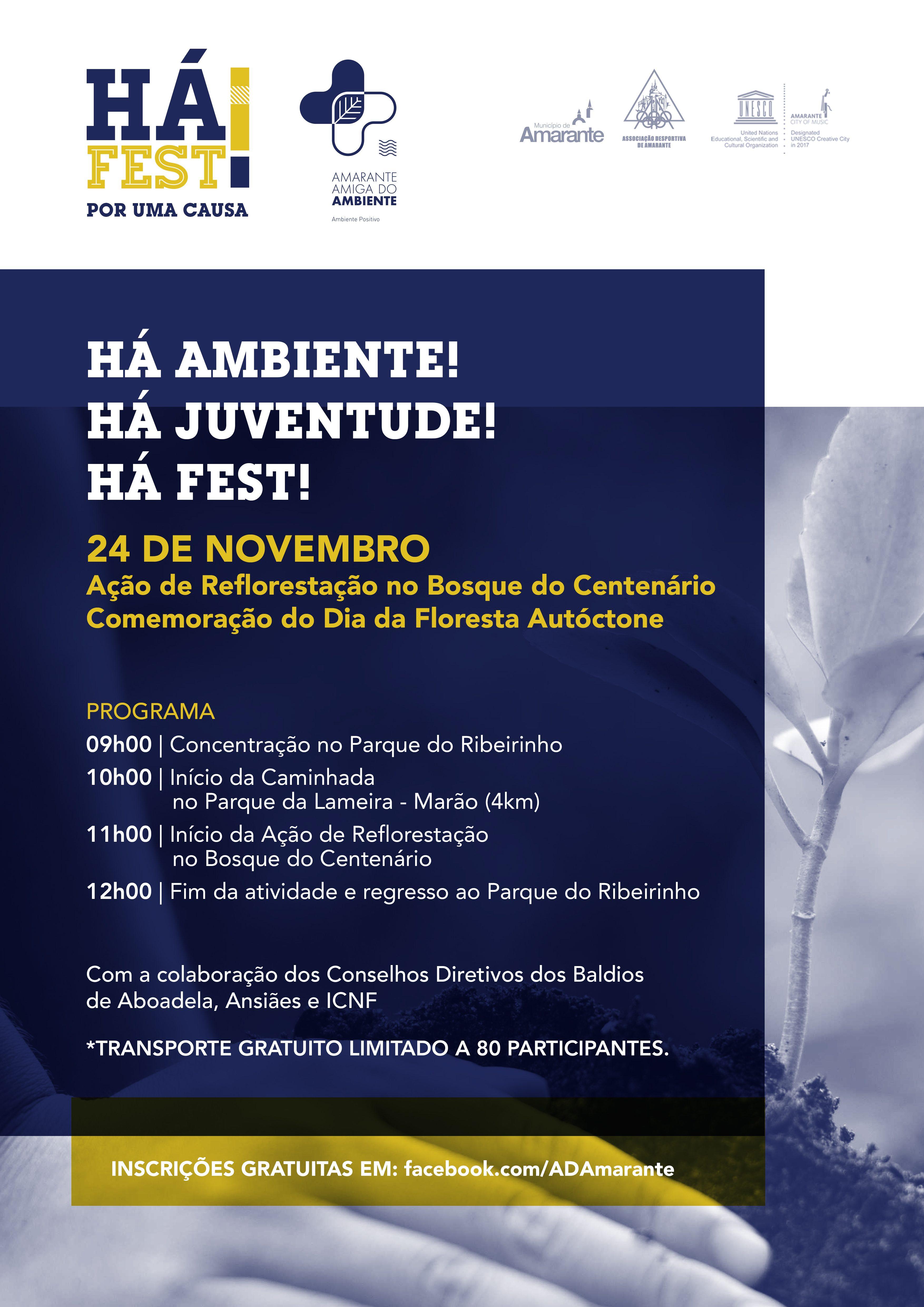 Município de Amarante promove palestra e ação de reflorestação