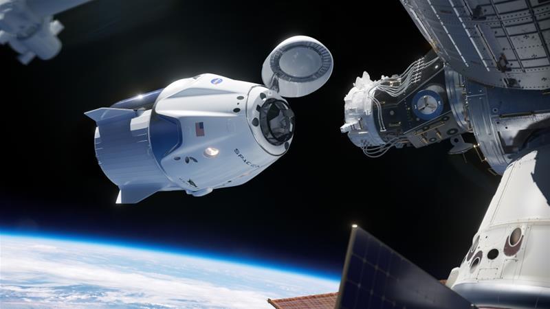 Missão da Space X acoplou com sucesso. Astronautas da NASA já chegaram à EEI