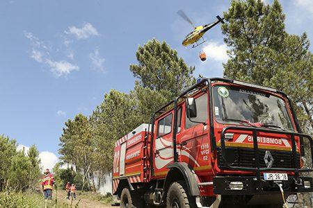 Corporações de bombeiros de Amarante e Vila Meã reforçam dispositivos de combate a incêndios a partir de 01 de julho