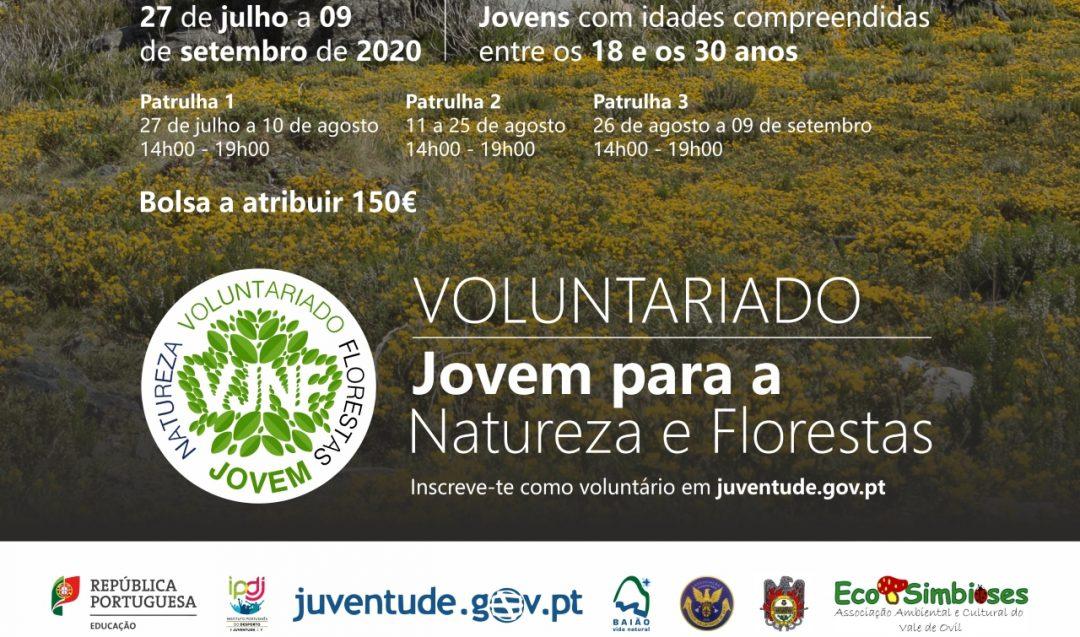 Candidaturas ao Programa Voluntariado Jovem para Natureza e Florestas 2020