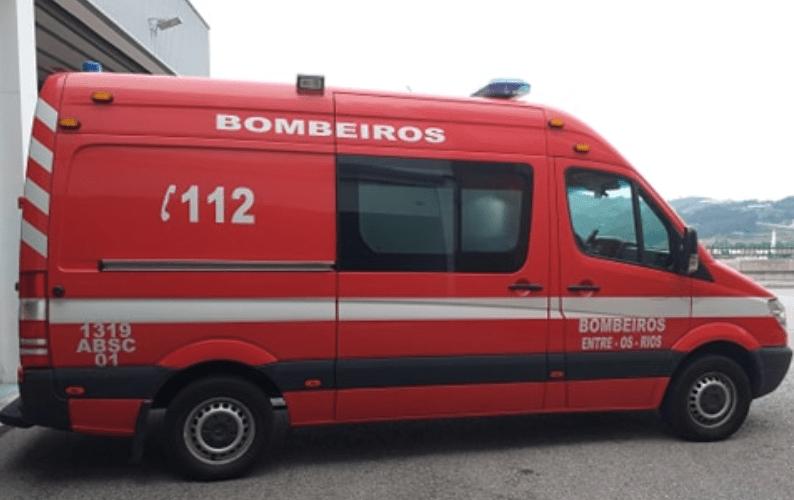 Penafiel: Bombeiro de Entre-os-Rios vítima de agressões
