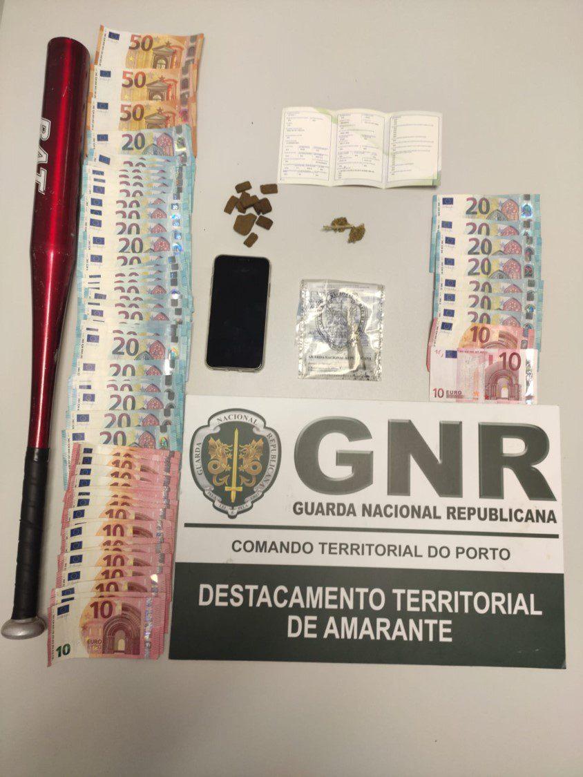 GNR prende traficantes em Amarante e no Marco de Canaveses