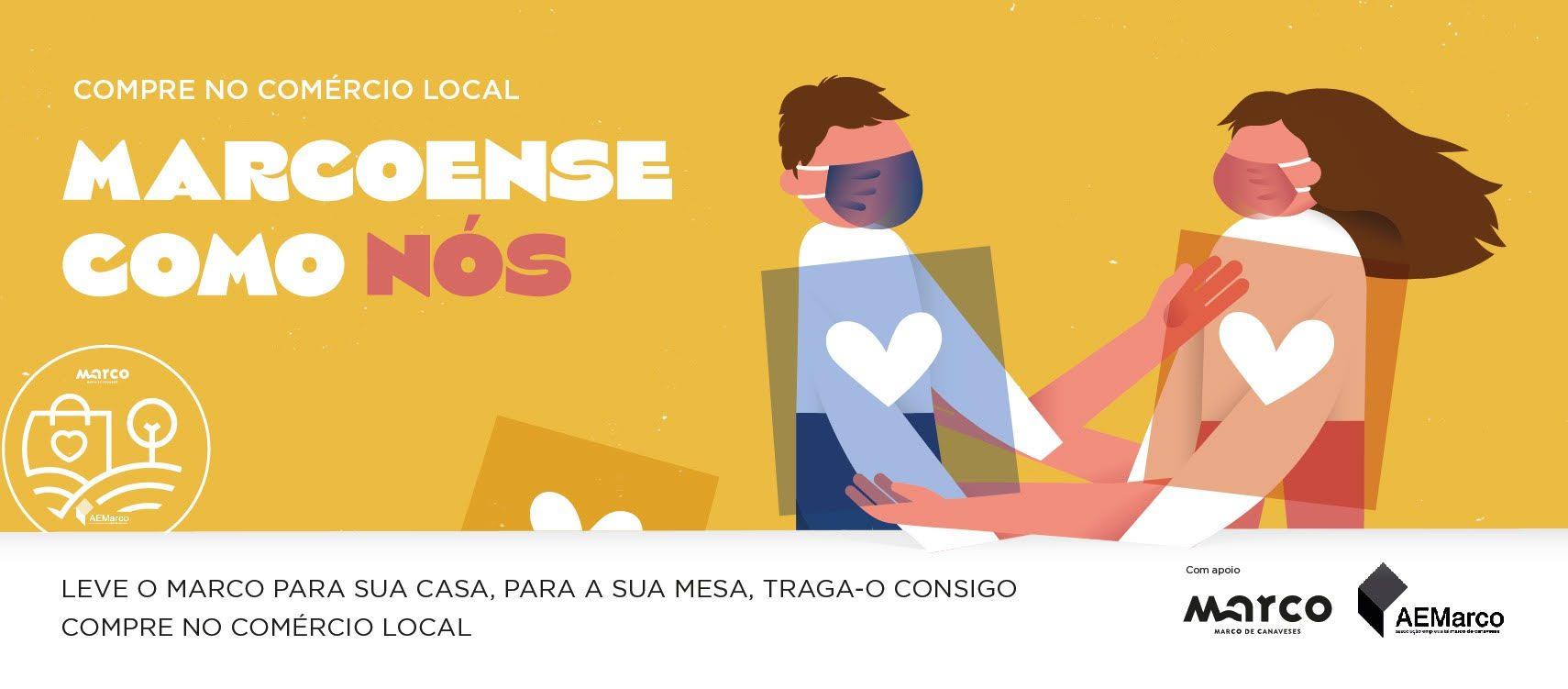 """Campanha """"Marcoense Como Nós"""" apela ao consumo de produtos e serviços locais"""
