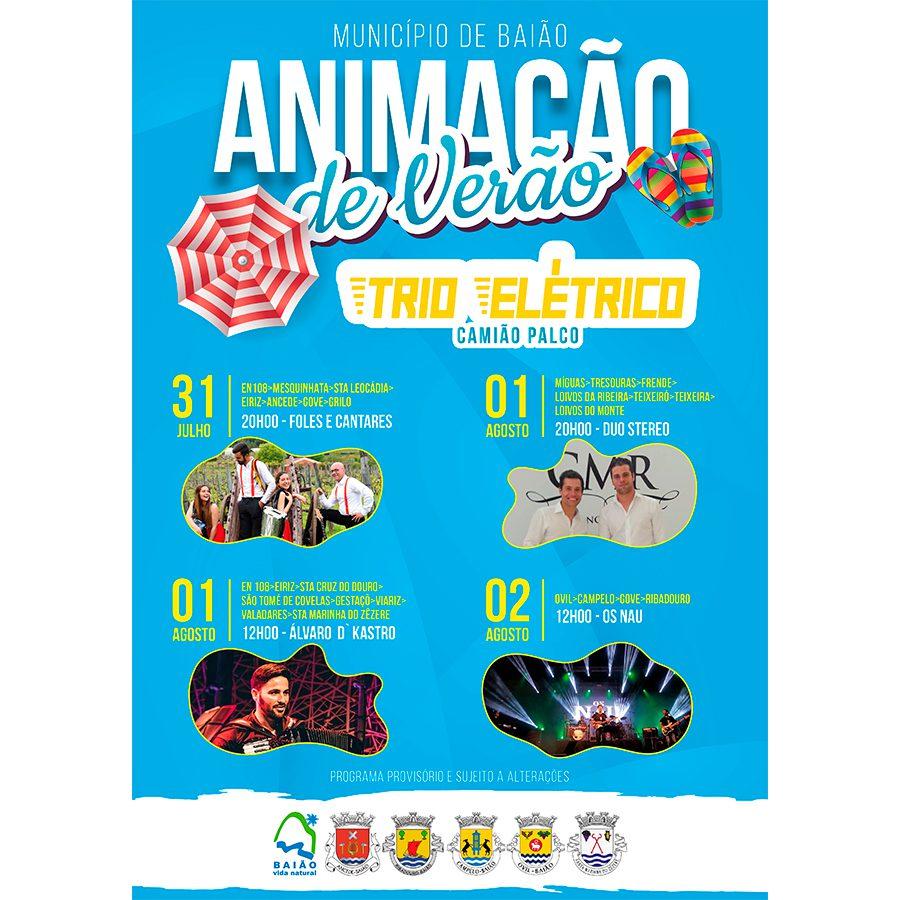 Música Sobre Rodas circula pelo concelho de Baião este fim de semana