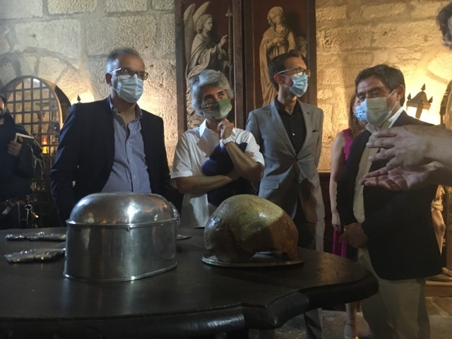 Ministra lança primeira pedra da obra de requalificação de Mosteiro e anuncia que a Cultura será considerada no PRES