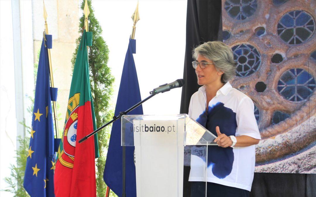 Ministra da Cultura no arranque do restauro do Mosteiro de Santo André de Ancede