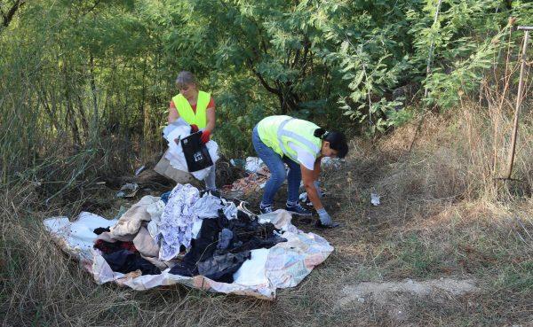 Subtraídas seis toneladas de lixo das bermas à paisagem de Baião