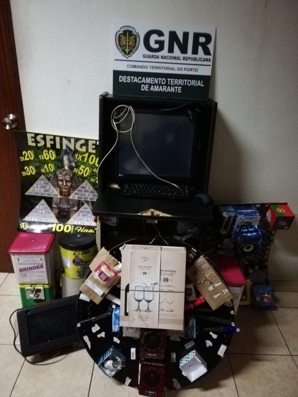 Vila Meã – Apreensão de máquinas de jogo ilegal