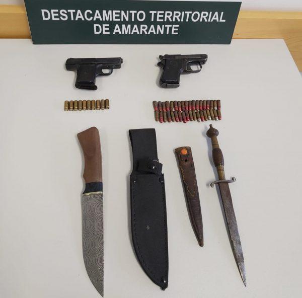 Baião – Arguido por posse ilegal de armas