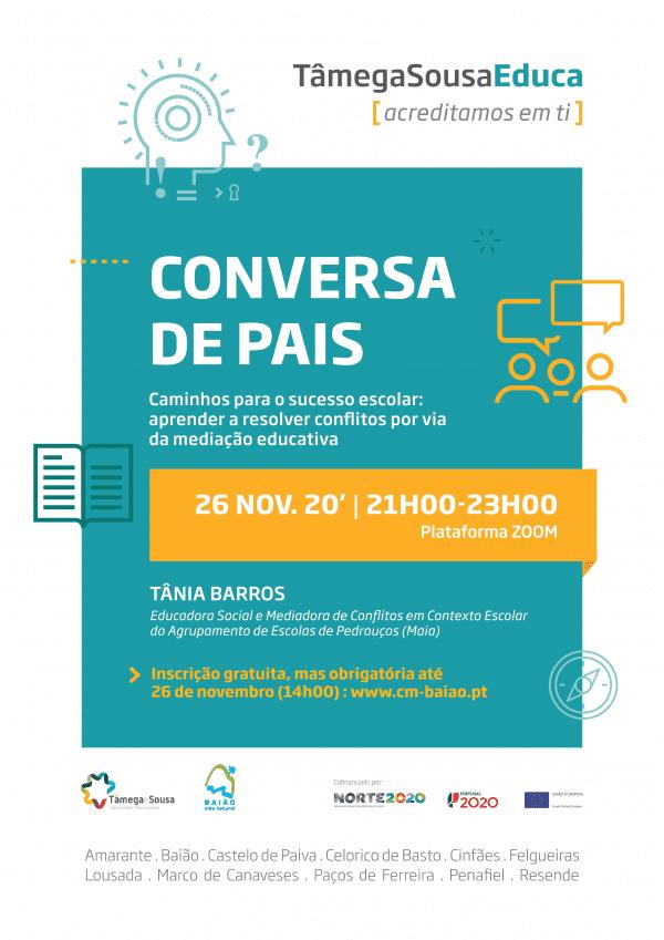 """Baião promove mais uma """"Conversa de Pais"""" na internet"""