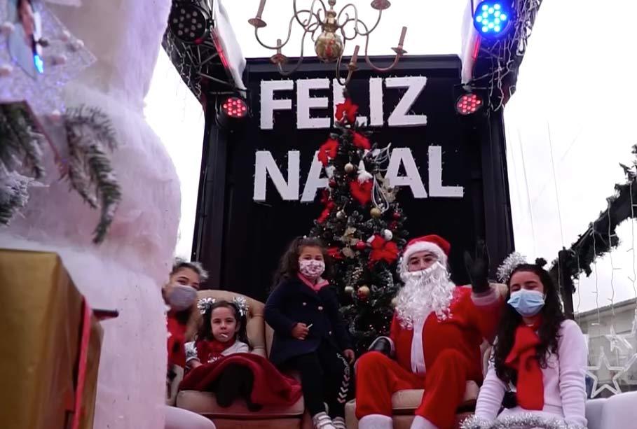 """Pai Natal """"visitou"""" concelho de Baião"""