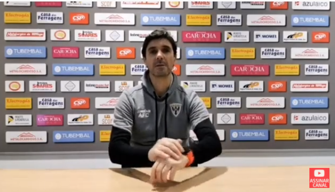 """Vila Meã """"despede"""" treinador do Amarante FC"""