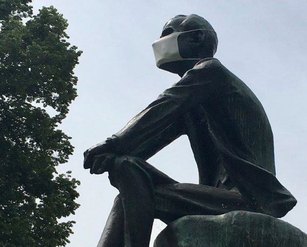 Obrigatório de máscara na rua, agora até 5 de julho