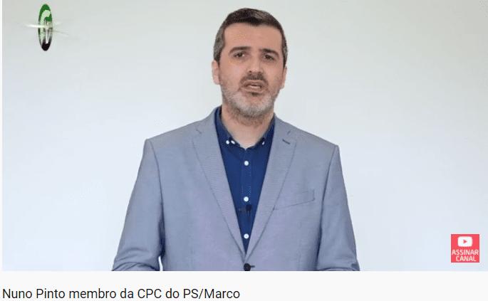 Opinião de Nuno Pinto membro da CPC do PS/Marco