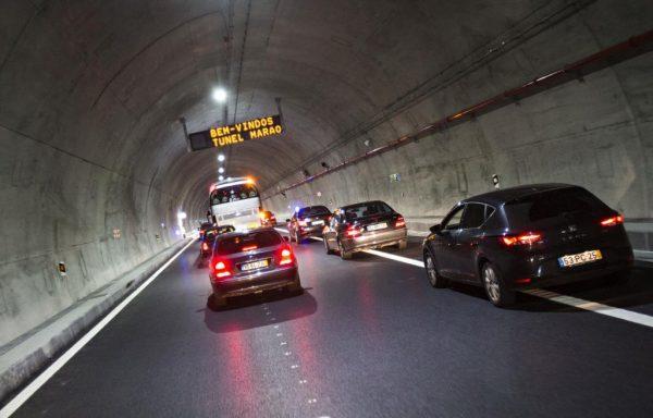 Túnel do Marão gerou 43ME em portagens em 5 anos