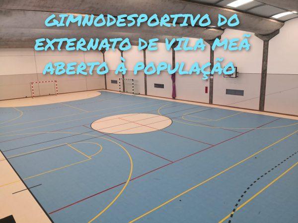 Município celebra protocolo com Externato de Vila Meã para abrir pavilhão gimnodesportivo à comunidade