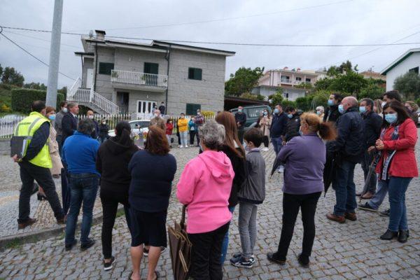 Iniciada construção da rede de saneamento da Lagarelha