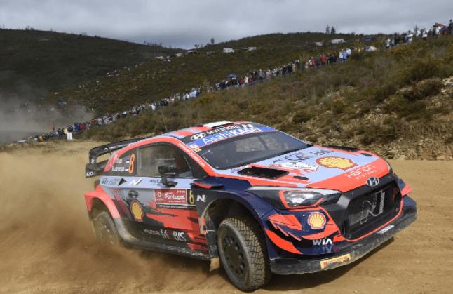 Ott Tanak (Hyundai) chega a Lousada na liderança do Rali de Portugal