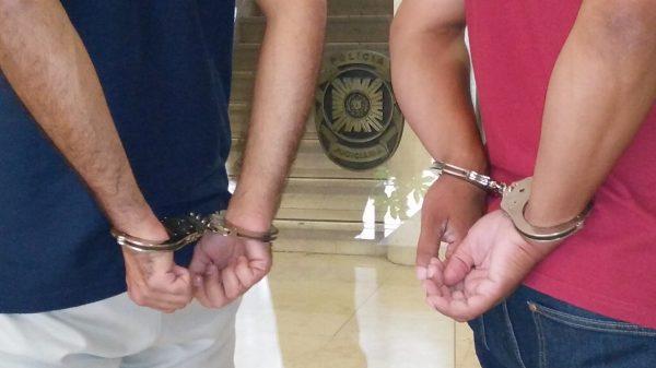 PJ prende autores de roubos a consumidores de droga