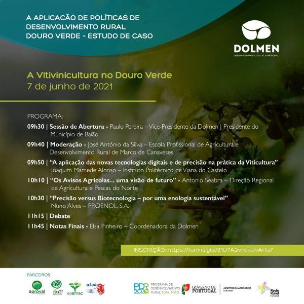 Dolmen promove reflexão prospetiva sobre o Desenvolvimento  Rural no Douro Verde