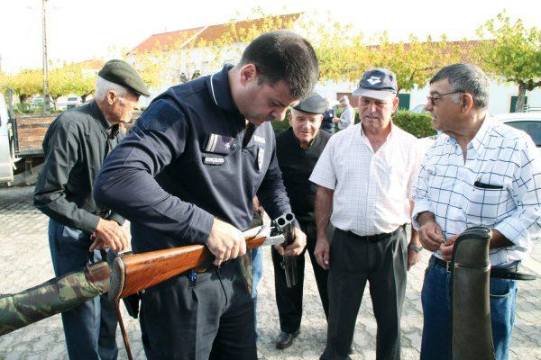 PSP anuncia recolha de armas no Marco de Canaveses