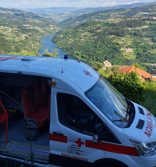Colisão fere gravemente motociclista em Marco de Canaveses