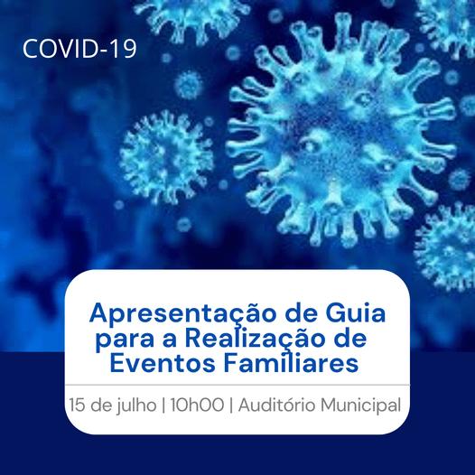 Resende com guia para a realização de eventos por causa da Covid-19