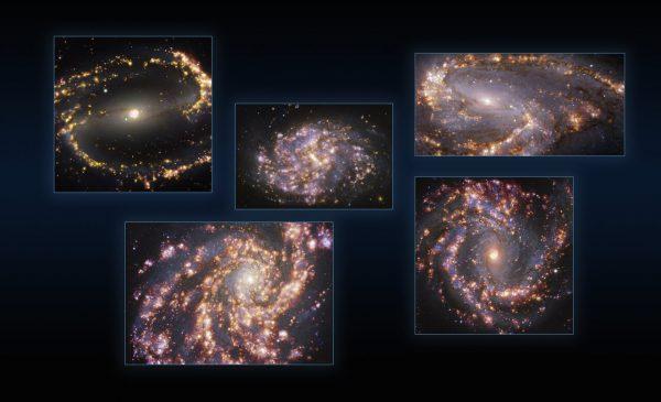 Lançada nova luz sobre os processos que levam o gás a formar estrelas