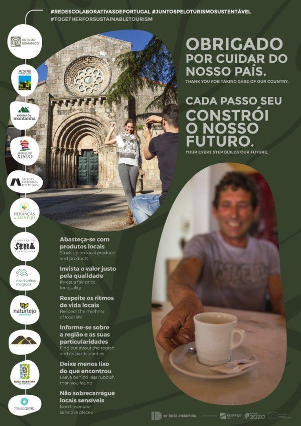 Rota do Românico participa em campanha nacional por um turismo responsável