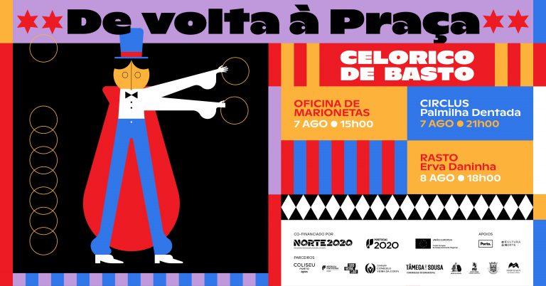 Teatro da Palmilha Dentada e Companhia Erva Daninha atuam na vila de Celorico