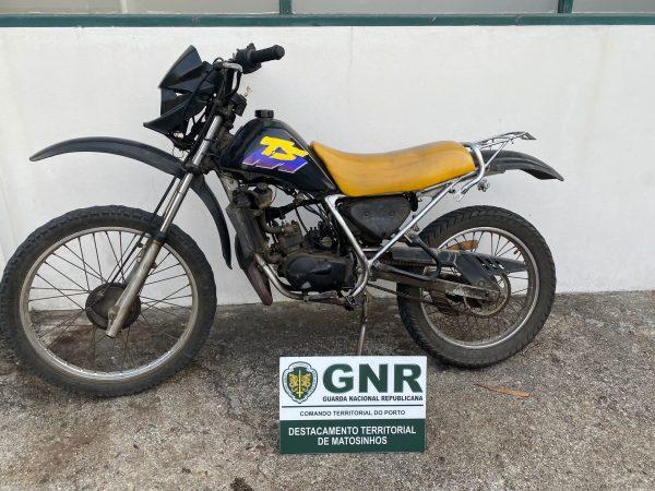 Vendia no Marco Moto roubada em Matosinhos
