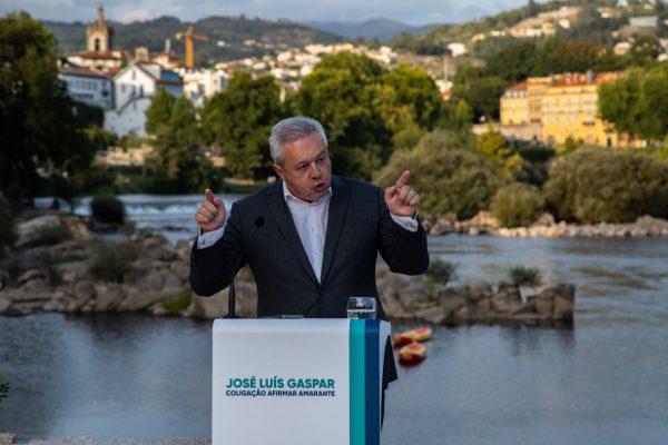"""José Luís Gaspar diz que """"baixa política"""" não deixou requalificar o Parque Florestal"""