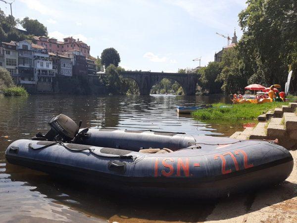 Bombeiros procuram homem no rio Tâmega