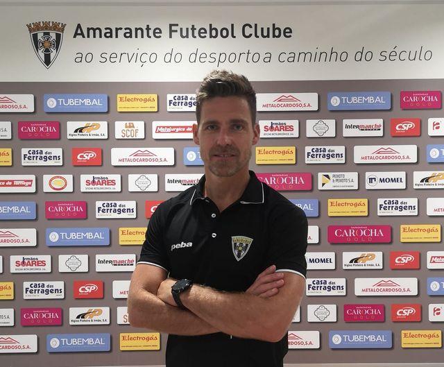 Jorge Pinto, o treinador que se segue no AFC