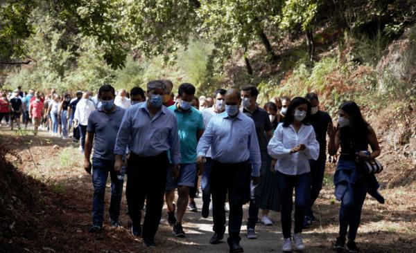 Pizarro, em campanha, garante que é possível arranjar financiamento para reabrir a linha do Tâmega