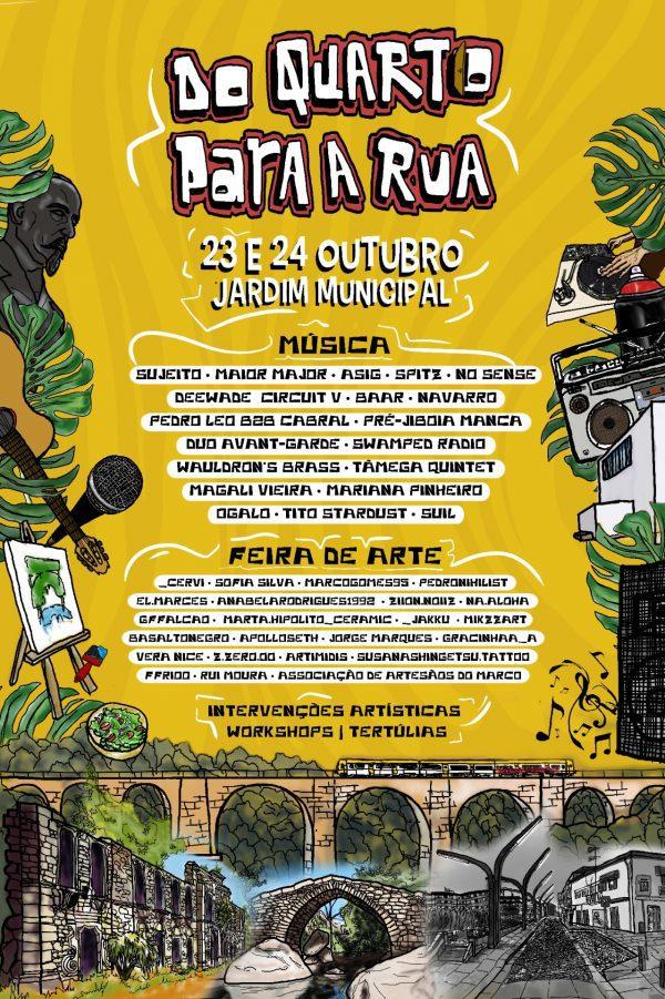 """Festival """"Do Quarto para a Rua"""" no Marco de Canaveses"""