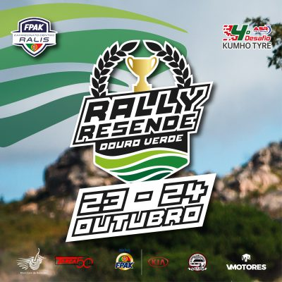 Rally Resende Douro Verde decorre de 23 a 24 de outubro